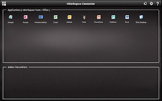 Screenshot of vWorkspace