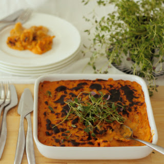 Sweet Potato Daikon Gratin
