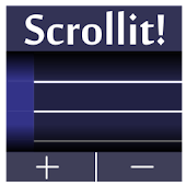Scrollit! (notes widget)