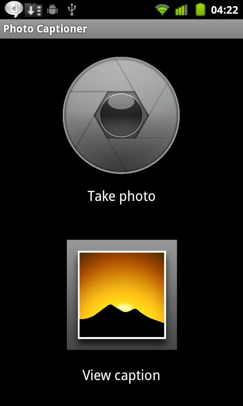 Auto Photo Captioner - screenshot