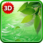 3D Leaves Live Wallpaper icon