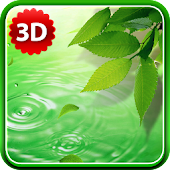 3D Leaves Live Wallpaper