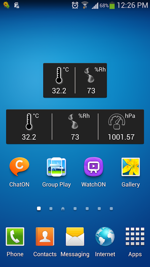 Thermometer Plus - screenshot