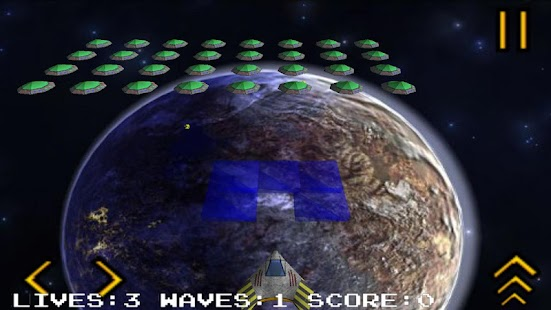 Invader 3d from outer space android for 3d outer space