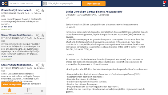 Offres d'emploi - Travail - screenshot thumbnail