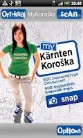 Screenshot of MyKoroška