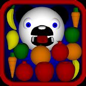 Really Hungry Panda Bear