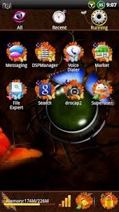 Butterfly GO Launcher EX Theme- screenshot thumbnail