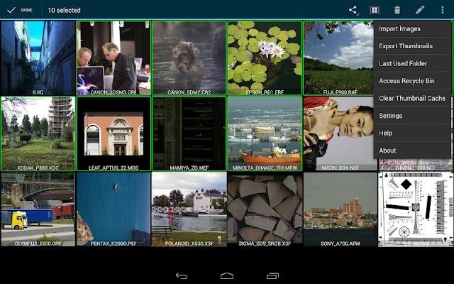 RawDroid Pro - screenshot