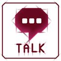 심플 Red Line 카카오톡 테마 icon