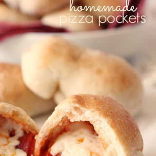Homemade Pizza Pockets