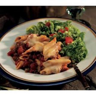 Italian Tomato Pasta Bake