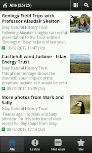 Islay Natural History Trust - screenshot thumbnail