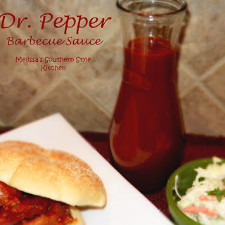 Dr. Pepper Barbecue Sauce.