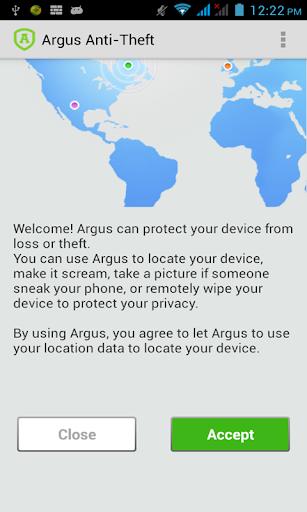 Argus手机防盗