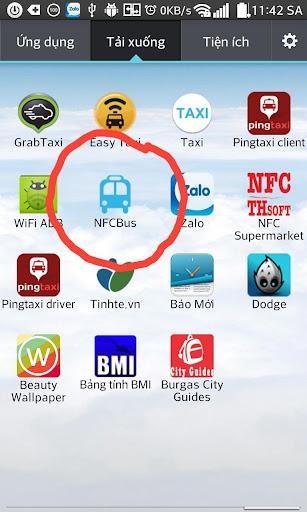 NFC Bus Soát vé xe bus