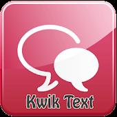 Kwik Text
