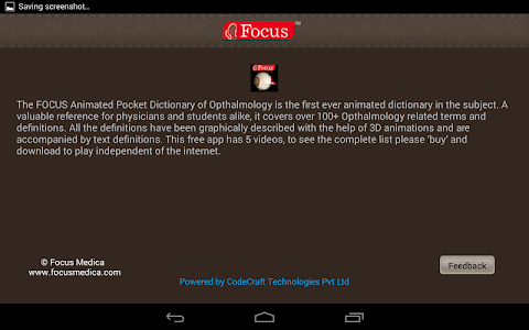 Ophthalmology -Pocket Dict. v1.1