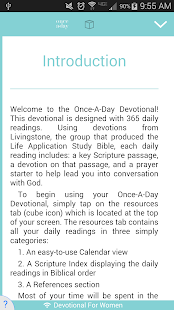 Once A Day Devotional - náhled