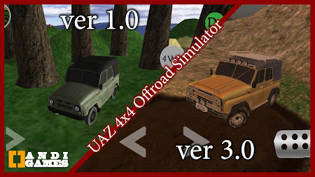 UAZ 4x4 Offroad Simulator 2 HD 3.1 screenshot 664719