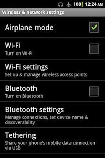 3 Plane Mode Tweaker App screenshot