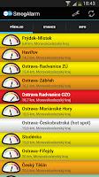 Screenshot of SmogAlarm