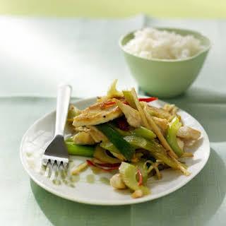 Chicken and Celery Stir-Fry.