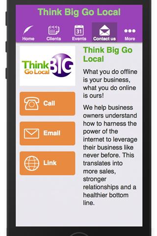 Think Big Go Local