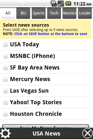 News One - screenshot