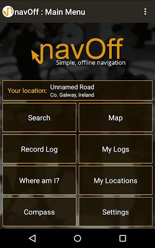 navOff - compass navigation
