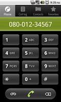 Screenshot of 0800 for Free