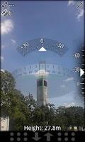Screenshot of AR GPS Compass Map 3D Pro