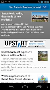 San Antonio Business Journal- screenshot thumbnail
