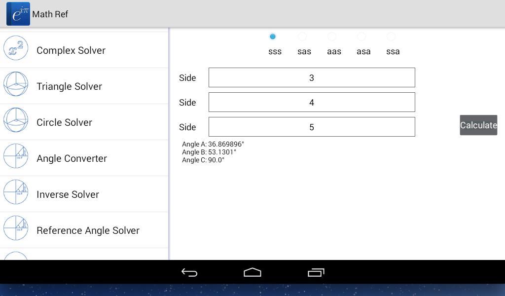 Math Ref screenshot #8
