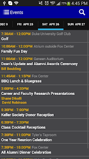 Fuqua Reunions 2014 - screenshot thumbnail