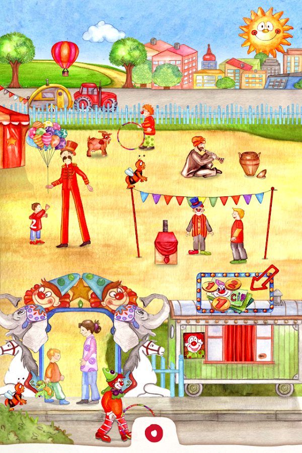 Animal Circus - Activity Book - screenshot