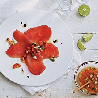 Tiradito of Tuna