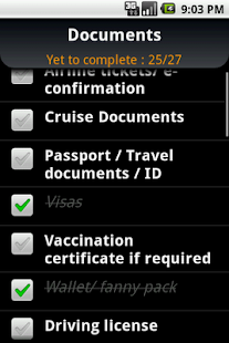Cruise Trip Planner - screenshot thumbnail