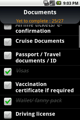 Cruise Trip Planner - screenshot