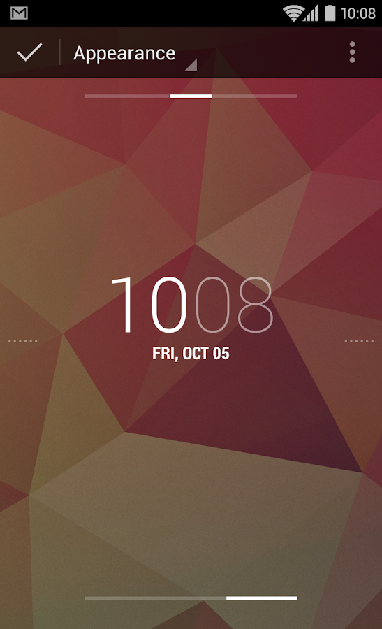 DashClock Widget - screenshot