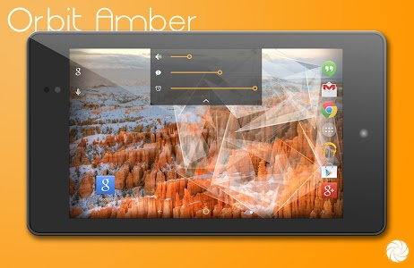 Orbit Amber Theme - CM11/PA v1d