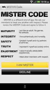 mister gay dating site Download mr x: gay dating & chat apk 264 and all version history for android  mr x: free gay dating, chat and social app for grownup gay men  by clicking  any link on this page you are giving your consent to our privacy policy and.