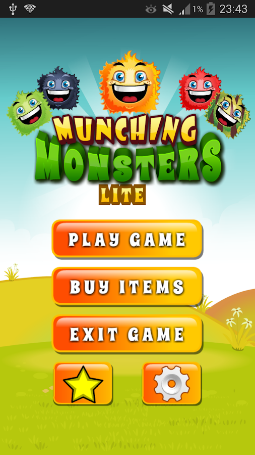 Munching Monsters Lite - screenshot