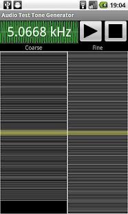 Audio Test Tone Generator- screenshot thumbnail
