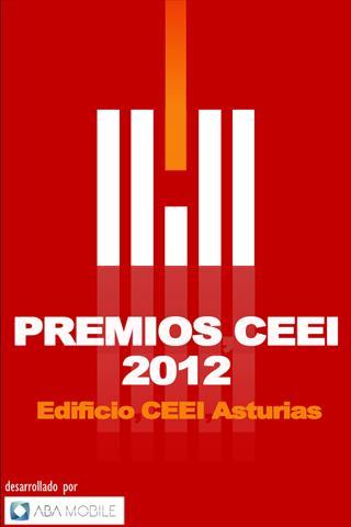Premios CEEI 2012