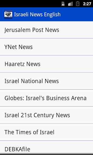 Israeli News English