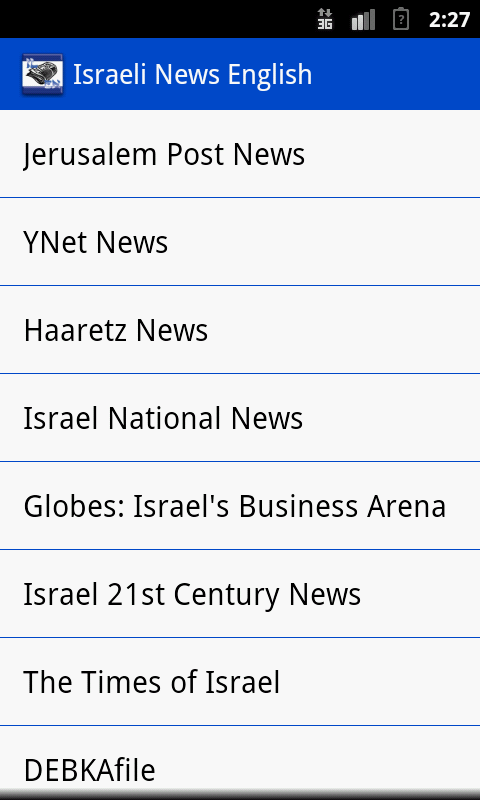 Israeli News English - screenshot
