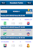 Screenshot of Liga Colombiana