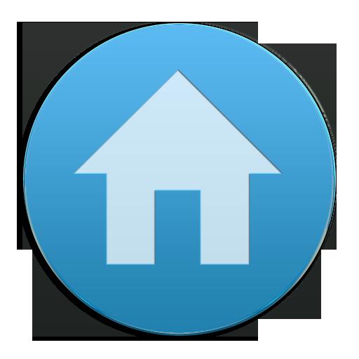 VM9 Blue Glass Icons 個人化 App LOGO-APP試玩