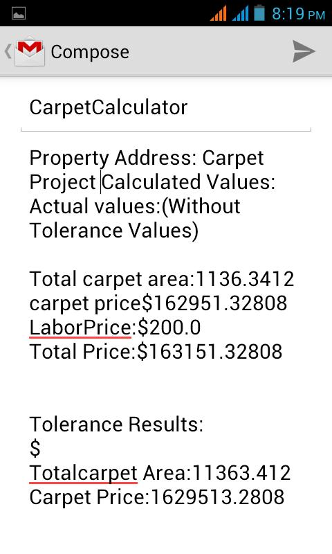 Carpet Calculator Android Apps On Google Play